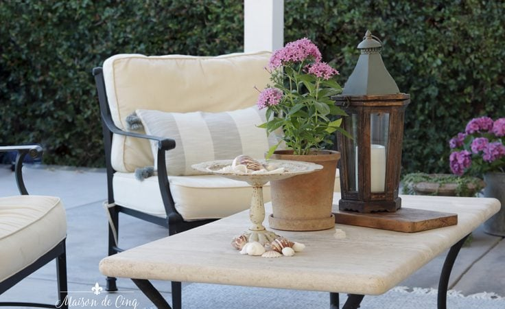Outdoor Patio Refresh: 3 Small Changes that Made a Big Impact!