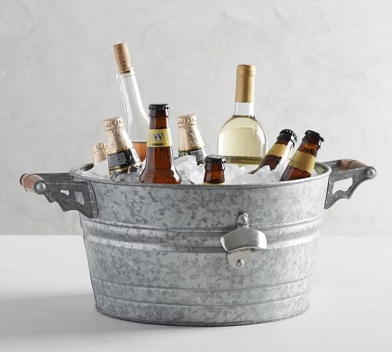 Pottery Barn party bucket summer outdoor entertaining essential