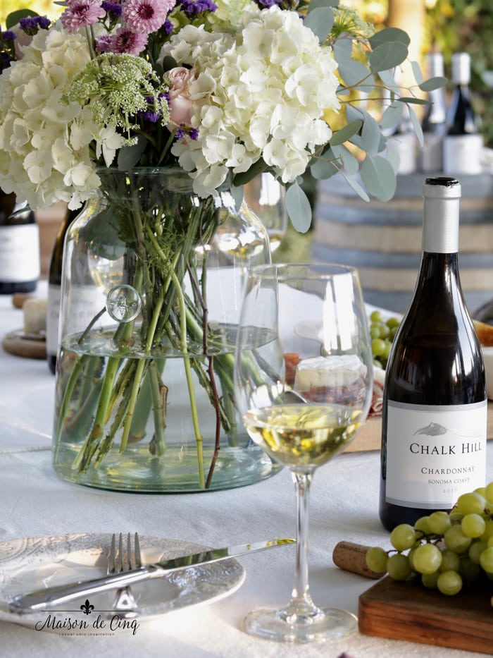 Chalk Hill chardonnay delicious wine summer entertaining idea