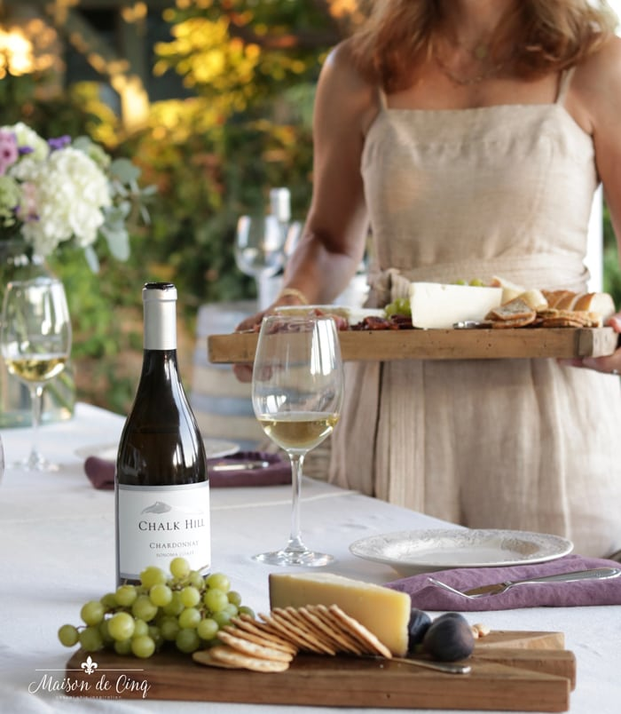 hosting a summer wine and cheese party easy elegance