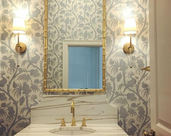 Powder Room Inspiration – Design Plan & Mood Board