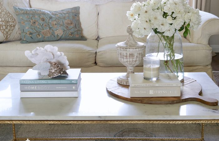 How to Style a Coffee Table: My Five Essential Tips