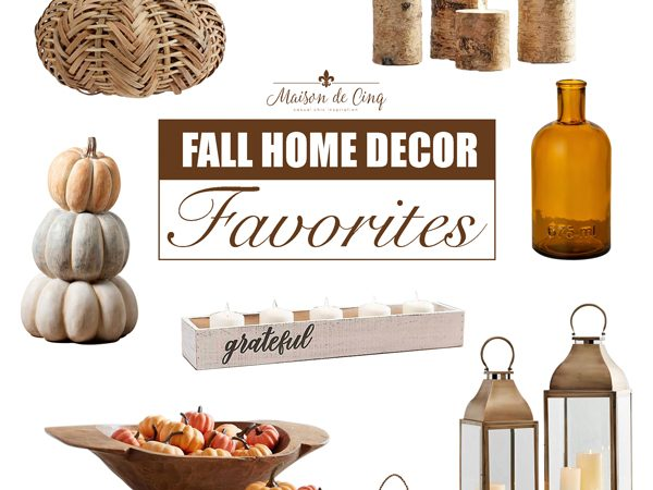 Fall Home Decor Finds: Seasonal Favorites to Warm up Your Home