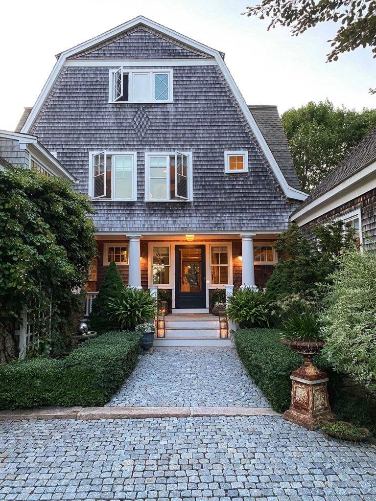 shingle style classic Cape Cod home