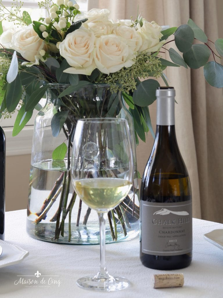 Chalk Hill chardonnay delicious wine for holiday party