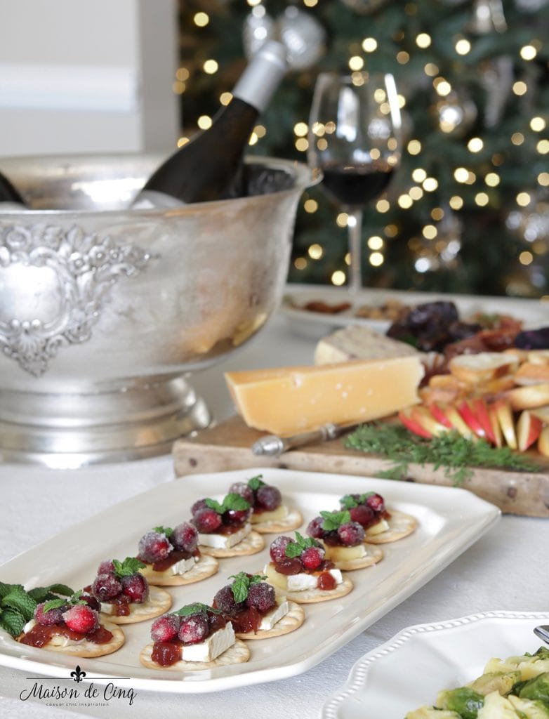 delicious food and appetizers holiday entertaining tips and ideas