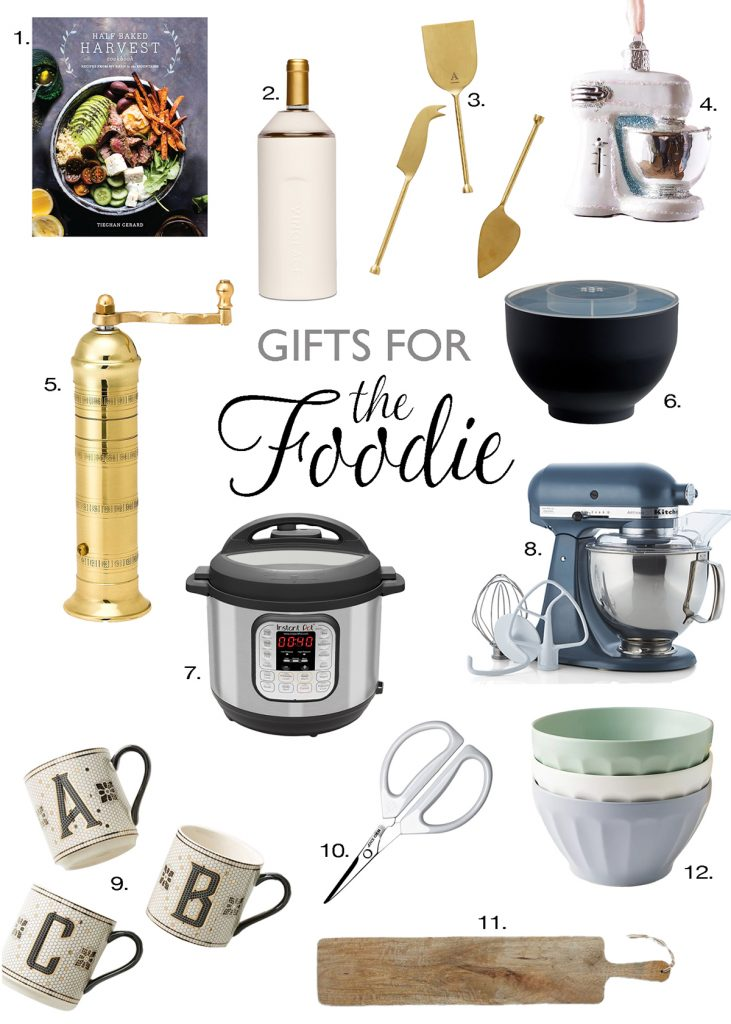gift for the foodie baker and cook graphic best gift ideas