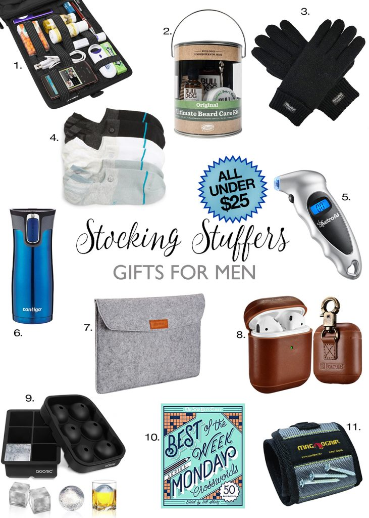 stocking stuffer gifts for men under $25 christmas gift ideas