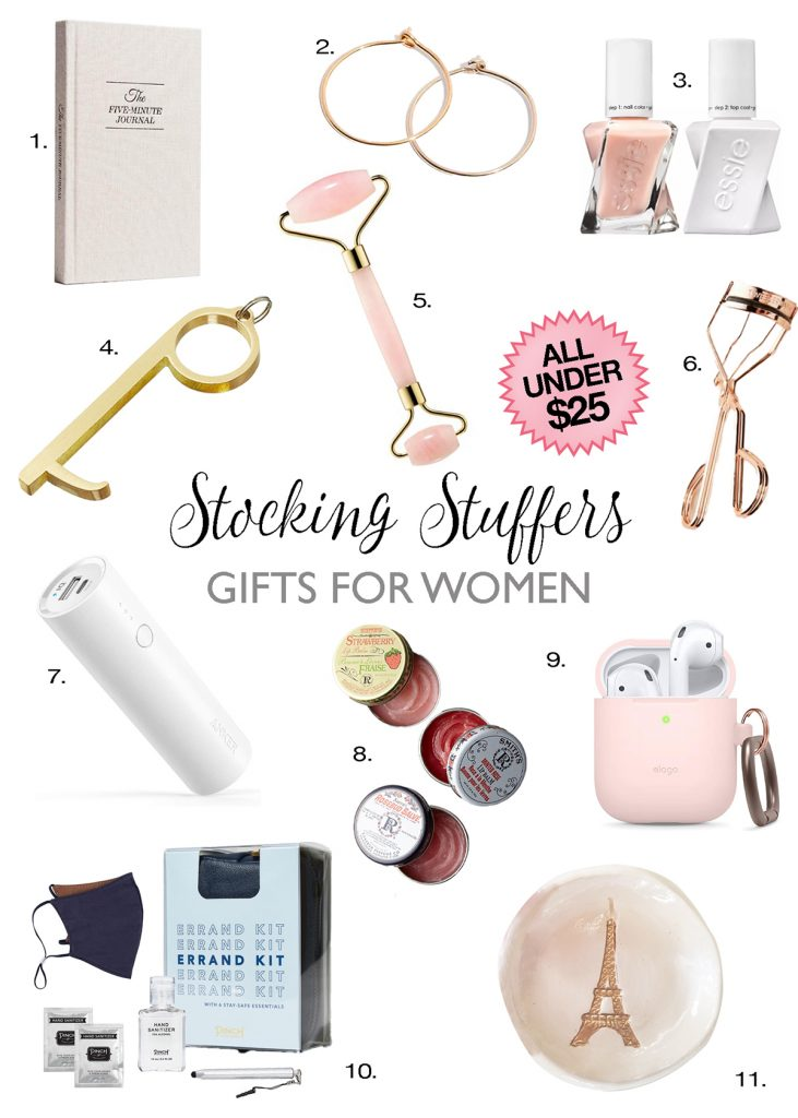 stocking stuffer ideas women under $25 holiday gift guide