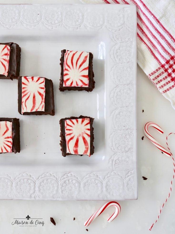 Christmas Star Brownies