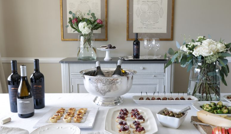 How to Host an Easy Holiday Wine & Appetizer Party