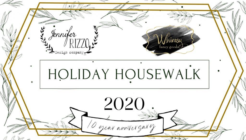 holiday housewalk 2020 graphic