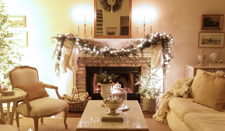 Cozy Candlelight Christmas Home Tour