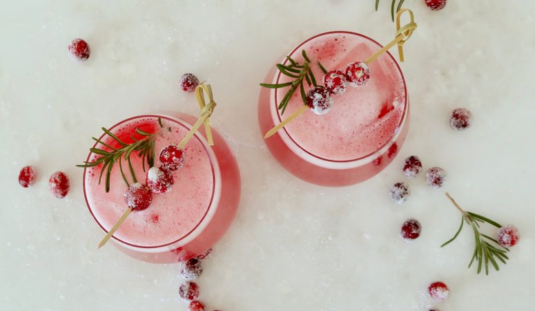 Cranberry Whiskey Sour: Festive Holiday Cocktail