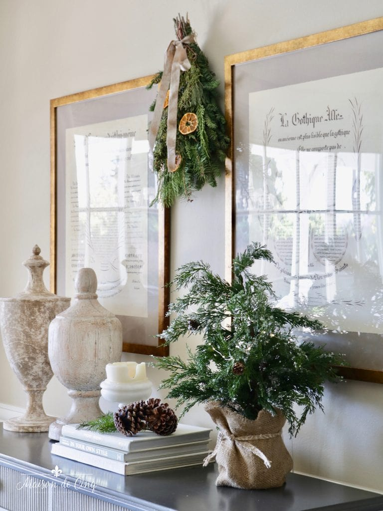 French country holiday decorating gorgeous dining room decor