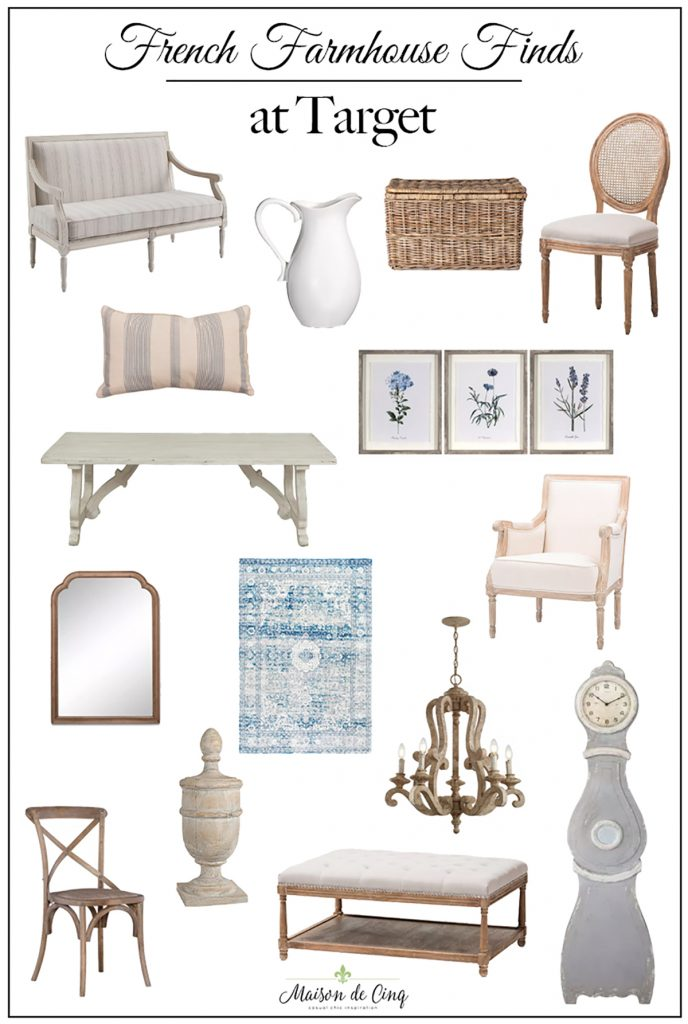 top ten posts Fabulous French farmhouse finds at Target french country decor