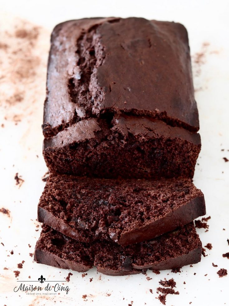 Chocolatiest Chocolate Banana Bread