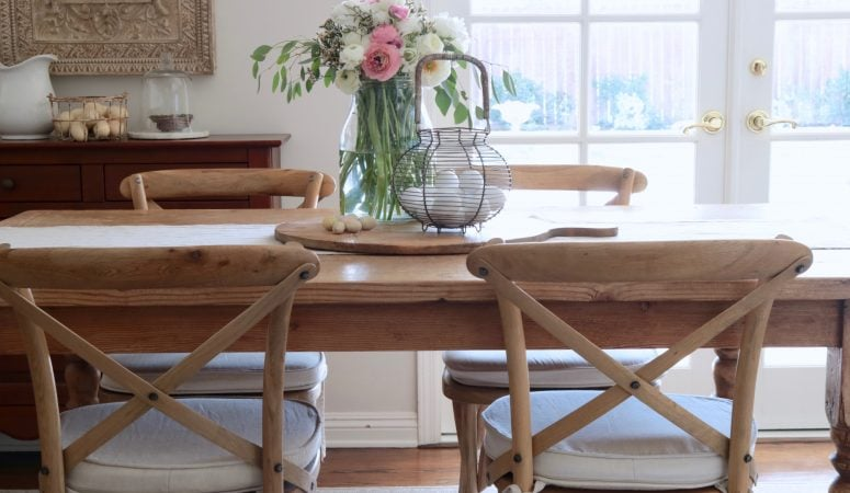 Spring Kitchen Decorating: A Simple & Easy Spring Refresh
