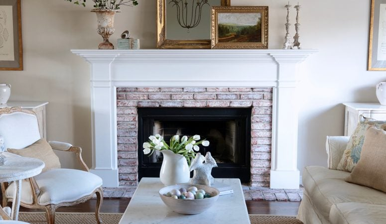 Fresh and Simple Spring Decorating Ideas: Living Room Refresh