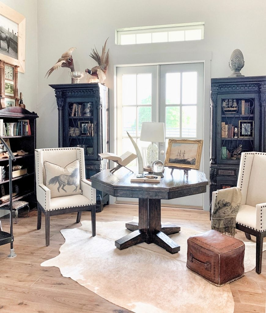 study office farmhouse style