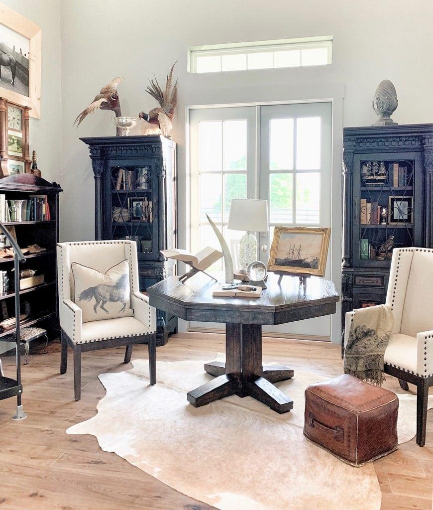 study office farmhouse style