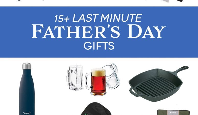 Gift Ideas for Father's Day: Last Minute Gift Guide!