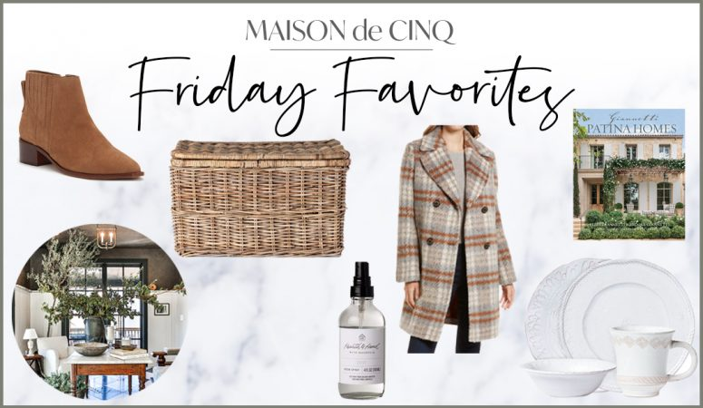 The All New Friday Favorites: Weekly Inspiration