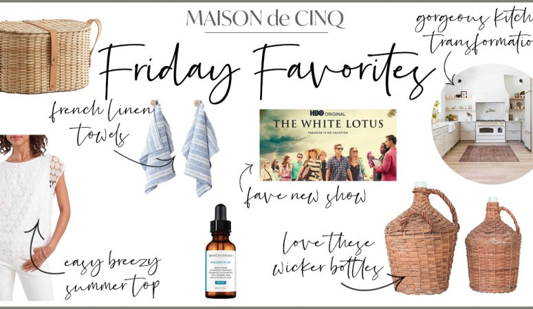 Friday Favorites: Weekly Inspiration