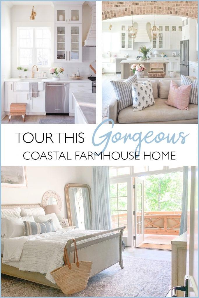 Light & Bright Coastal Farmhouse Style graphic Maison de Cinq
