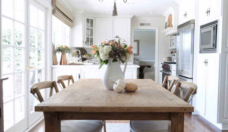 Simple Fall Kitchen Decorating Ideas