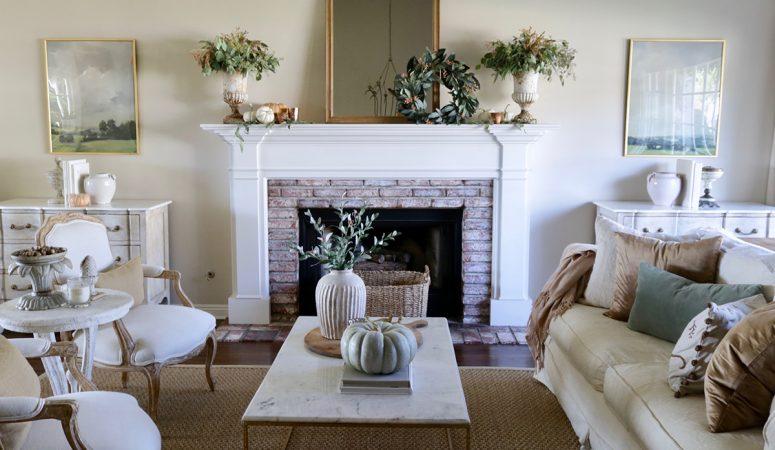 Simple Fall Decorating: Creating a Subtle Autumn Color Palette