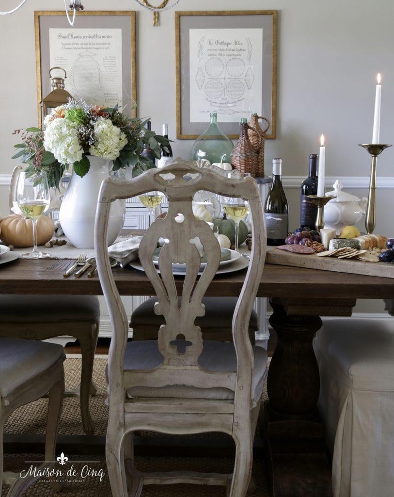 fall harvest dinner party gorgeous autumn table setting entertaining ideas
