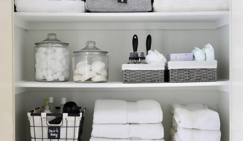 Linen Closet Organizing: Readying Our Home for Guests