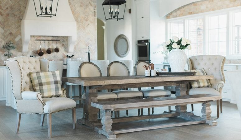 Stunning French Farmhouse Style Home – Inspiring Home Tour